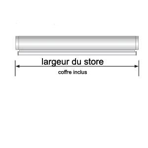 mesure du store