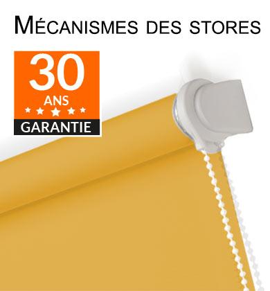 Garantie mecanismes de stores enrouleur à chaînette 30ans, chez storesenrouleur.com